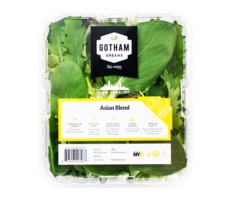 A tender, delicious blend of bok choy, mizuna, tatsoi and mustard greens. Characterized by pleasant yet bold flavors of pepper, spice and tanginess our medley of baby leaves is rich in vitamins, minerals and fiber. Serve alone as a salad or toss with other mixed greens or fruit to balance the flavor.