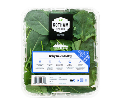 Our carefully selected medley of baby kale leaves are tender and sweet to enjoy raw in a salad or be cooked traditionally like more mature varieties. Packed with nutrients and antioxidants, this 'superfood' is in the same family as cabbage, broccoli and cauliflower.