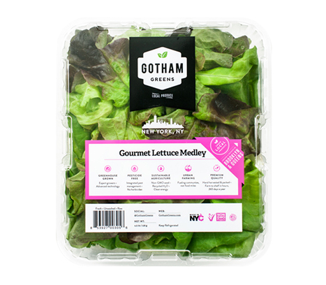 Tender, delicate and mildly flavored, our specially selected full leaf blend contains various varieties of green, red, oak leaf, butter, curly and textured lettuce. The medley contains high quantities of vitamins A and K, plus important antioxidants beta carotene and lutein.